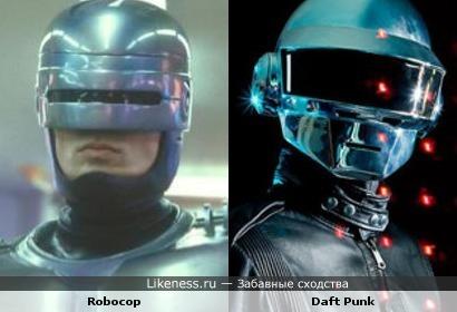 Robocop и Daft Punk