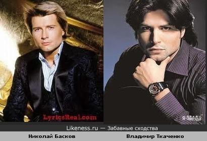 Владимир Ткаченко тот же Басков только брюнет