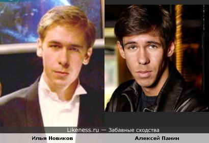 Илья Новиков (Что? Где? Когда?) похож на актера Алексея Панина