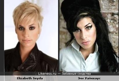 Elizabeth Seyda очень похожа на Эми Уайнхаус