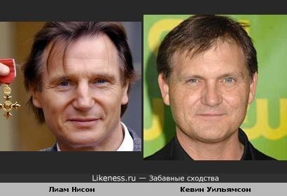 Лиам Нисон и Кевин Уильямсон