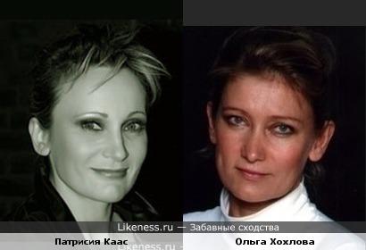 Патрисия Каас и Ольга Хохлова