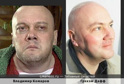 Грэхэм Дафф и Владимир Комаров