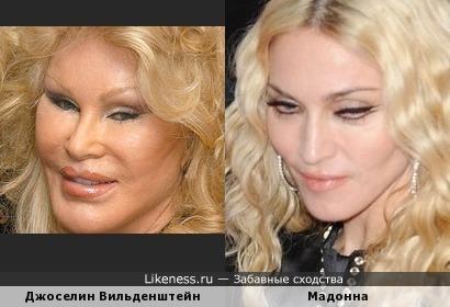 Джоселин Вильденштейн и Мадонна