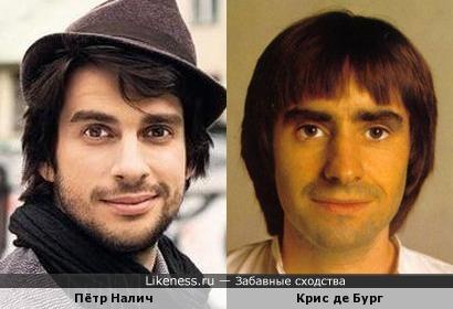 Крис де Бург и Пётр Налич