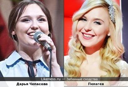 Пелагея и Дарья Чепасова