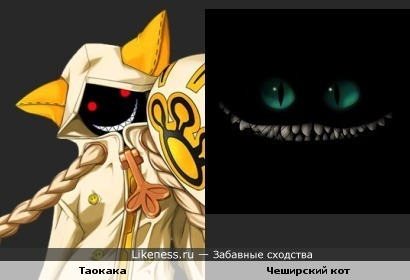 У Таокаки улыбка, как у Чеширского кота