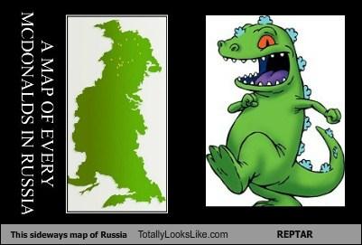 Россия с TotallyLooksLike
