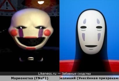 Герои игры five nights at freddys 2