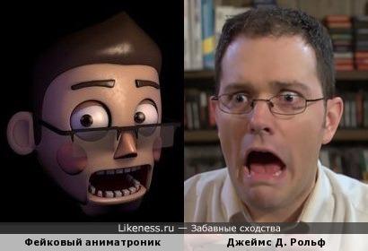 "Фейковый аниматроник в стиле ""Five Nights at Freddy's"