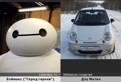 """Бэймакс из мультфильма """"Город героев"""
