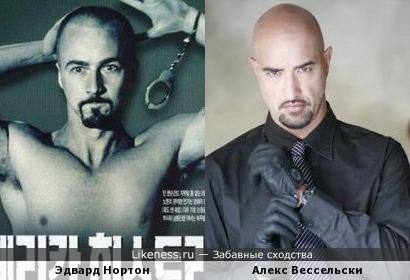 Эдвард Нортон в роли нациста подозрительно похож на немецкого музыканта