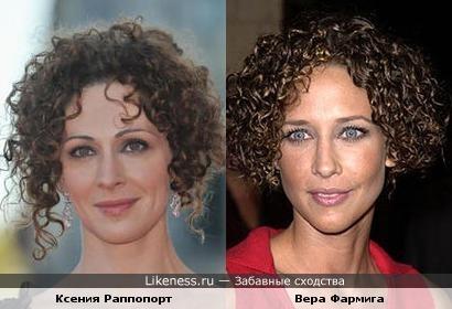 Ксения Раппопорт и Вера Фармига