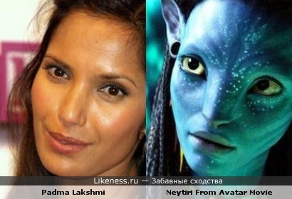 Padma Lakshmi and Neytiri