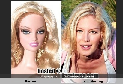 Barbie and Heidi Montag