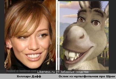 """Улыбка Хиллари похожа на улыбку болтливого ослика из """"Шрека"""""""