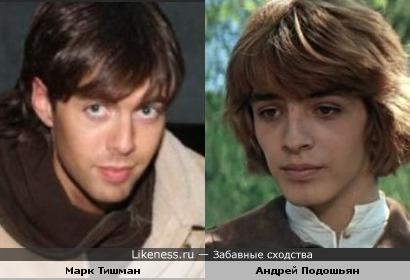 Экс-фабрикант Марк Тишман и актер Андрей Подошьян (Принцесса на горошине) похожи