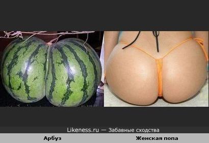 Форма женской груди арбуз фото #9