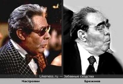 Марчелло Мастрояни мог сыграть Брежнева