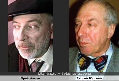 Актёр Сергей Юрский и режиссёр Юрий Мамин в старости стали похожи