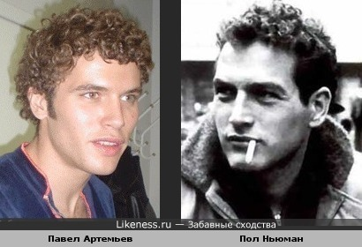 Павел Артемьев похож на Пола Ньюмана с кучеряшками