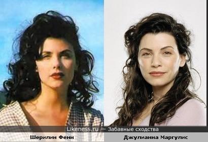 Джулианна Маргулис похожа на Шерилин Фенн