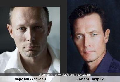 "Ларс Миккельсен (""Убийство"") похож на Роберта Патрика"