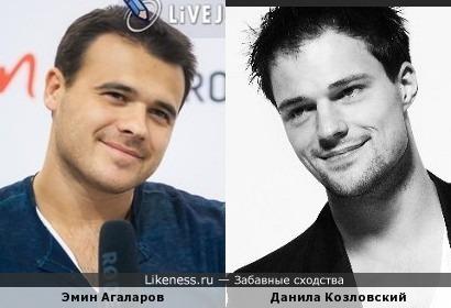 Эмин Агаларов и Данила Козловский