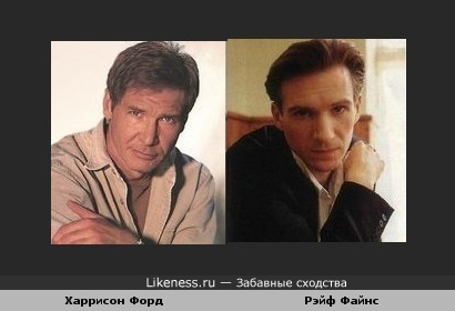 Два голливудских актера похожи