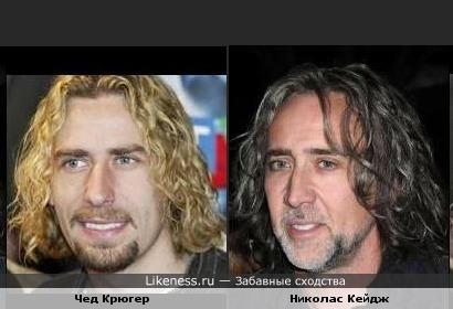 """Солист """"Nickelback"""" похож на немного постаревшего голливудского актера"""