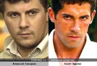 Алексей Секирин похож на Скотта Эдкинса