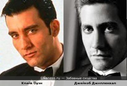 Клайв Оуэн (Clive Owen) и Джейкоб Джилленхал (Jacob Gyllenhaal) слегка напоминают друг друга