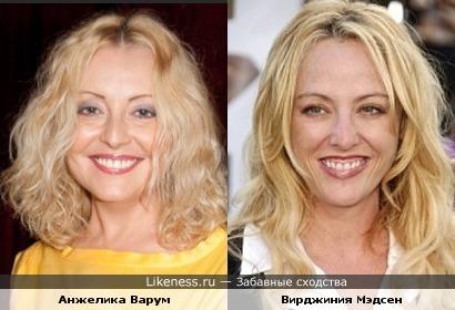 Вирджиния Мэдсен похожа на Анжелику Варум