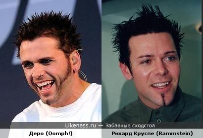 Rammstein vs. Oomph. Индастриал-металлисты похожи не только музыкой.