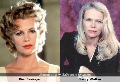 Ким Бэсингер на этом фото похожа на Марси Уолкер
