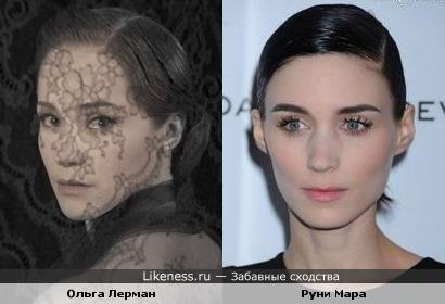 Ольга Лерман в образе Анны Карениной похожа на Руни Мару