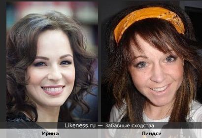 Ирина Медведева и скрипачка Линдси Стирлинг очень похожи