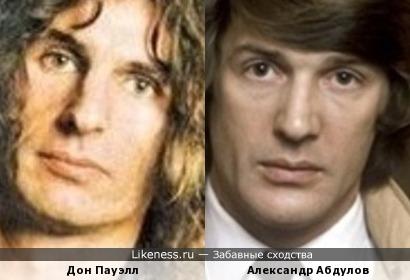 """Дон Пауэлл (муз. рок-группа """"Слэйд"""") похож на Александра Абдулова"""
