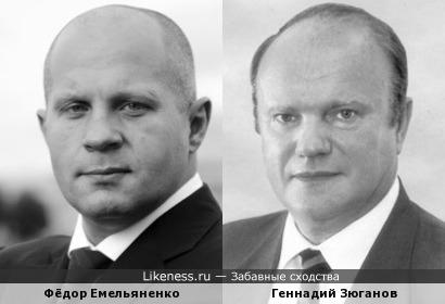 Фёдор похож на Зюганова