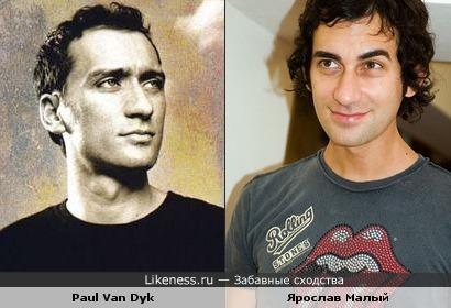 Пол ван Дайк похож на Ярослава Малого