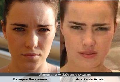 Девушка похожа на Ana Paula Arosio