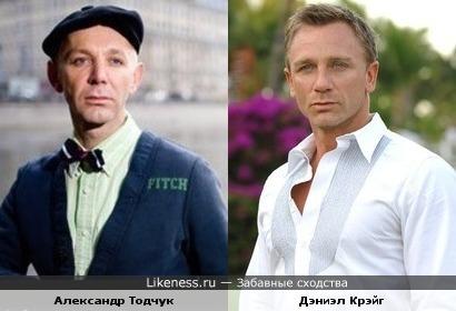 Александр Тодчук напомнил Дэниэла Крэйга