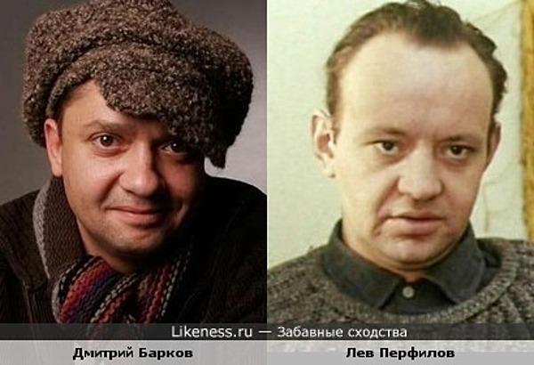 """Повзровслевший Дмитрий Барков (""""Приключения Петрова и Васечкина"""") и Лев Перфилов"""