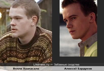 Вилле Хаапасало и Алексей Бардуков