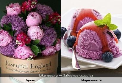 Букет-мороженое