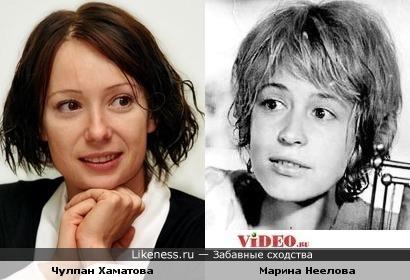 Чулпан Хаматова и Марина Неелова