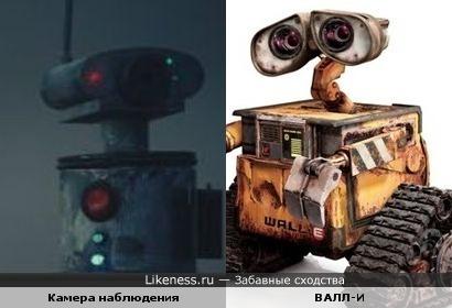 Камера похожа на робота ВАЛЛ-И