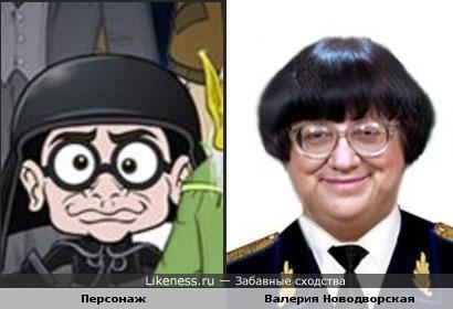 Песронаж из мультфильма напомнил Новодворскую
