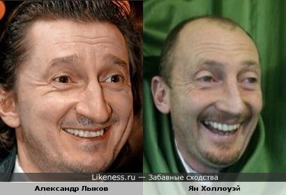 Актер Александр Лыков похож на футбольного тренера Яна Холлоуэя