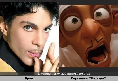 "Персонаж ""Рататуя"" напомнил Принса"